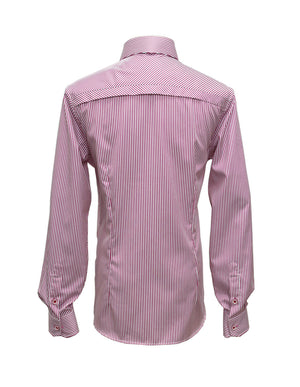Long Sleeved Carpi Bengal Stripe Shirt