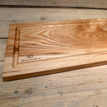Solid Oak Extra Large Wooden Carving Board