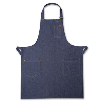 Navy Denim Mens Apron