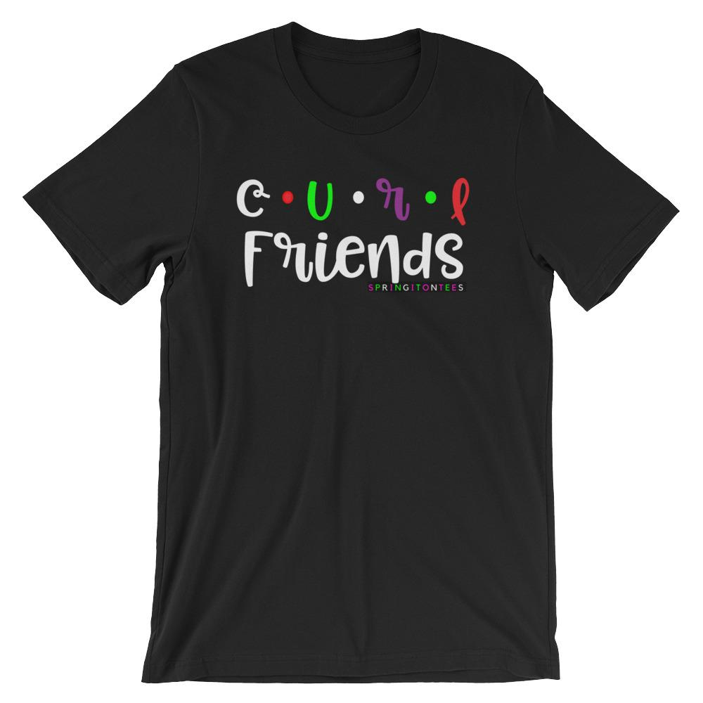 Curl Friends Short-Sleeve T-Shirt|SpringitOnTees