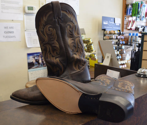Full Sole and Heel (Western Boots)