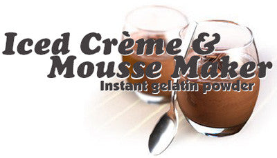 Iced Creme & Mousse Maker