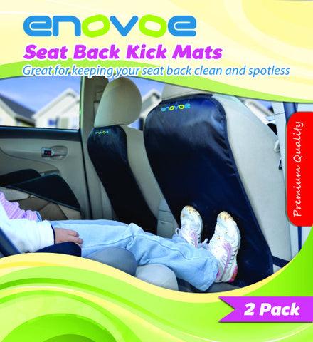 Seat Back Kick Mats - E-book