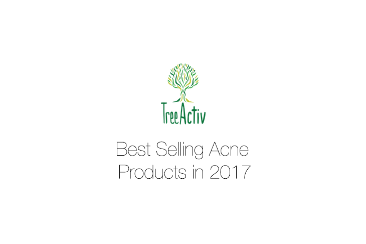 TreeActiv's Best Selling Acne Products in 2017