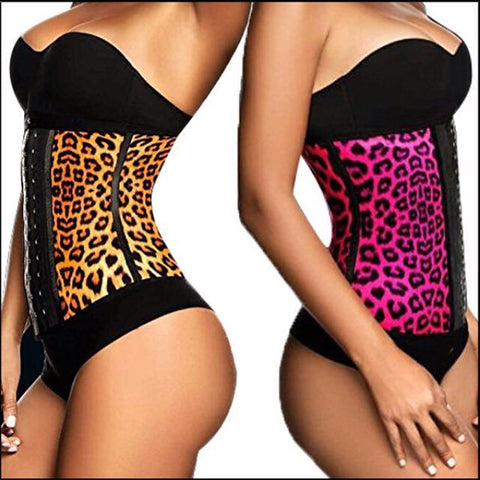 ***HOT*** Leopard Skin Latex Waist Trainer (Up to 50% OFF)