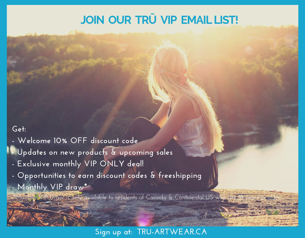Join Our Trū VIP Email List