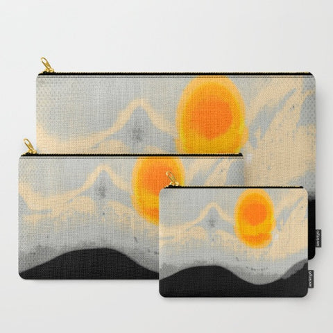 'Contemporary Sunset' Travel Pouch Set - Tru-Artwear.ca