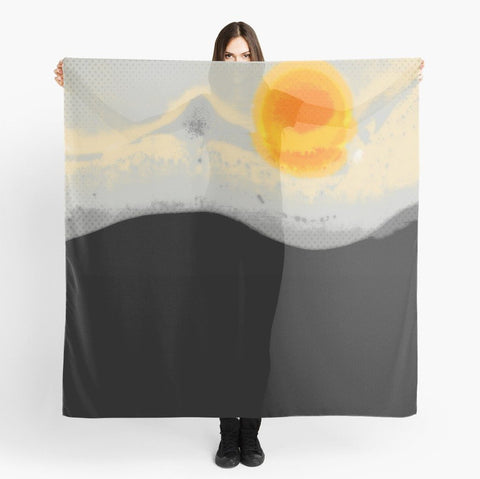 'Bright Sunset' Beach Wrap - Tru-Artwear.ca