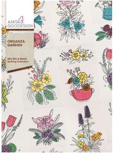 Anita Goodesign Organza Garden Mini Mix & Match Quilting