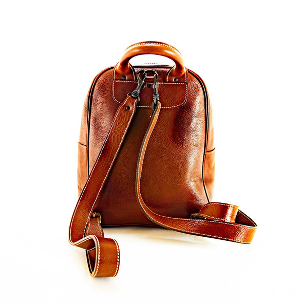 Italian Leather Backpack