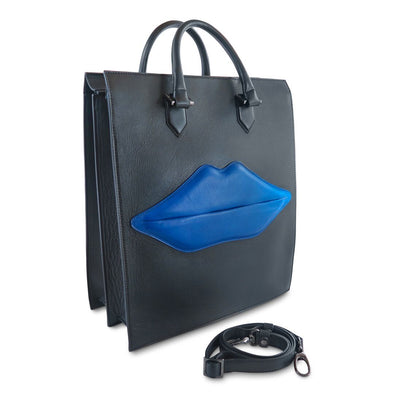 The OS Lips Italian Leather Bag