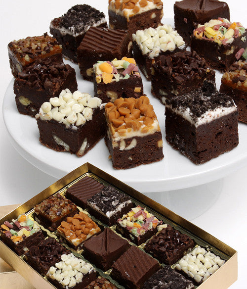 Gourmet Brownie Bites - 15pc - Chocolate Covered Company®