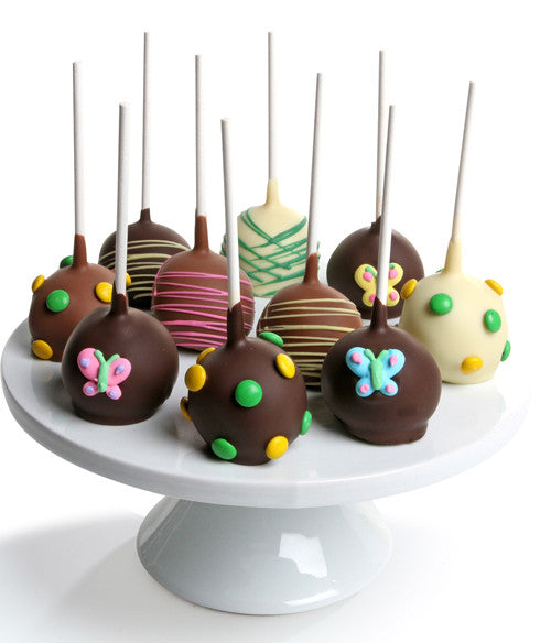 Spring Chocolate Dipped Cake Pops - Chocolate Covered Company®