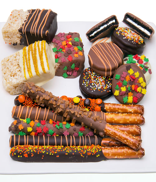 Autumn Fun Chocolate Covered Sampler Assortment  - 15pc - Chocolate Covered Company®