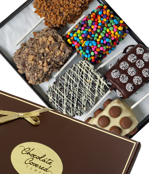 Ultimate Toppings Belgian Chocolate Covered Crispy Treats - Chocolate Covered Company®