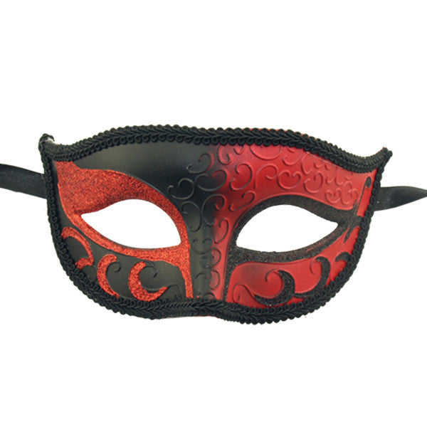 Sparkle Venetian Mardi Gras Multi Color mask - Luxury Mask - 1