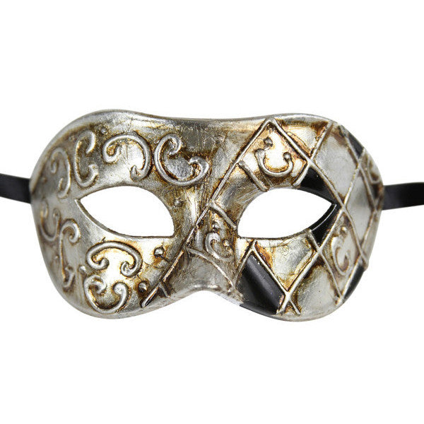 Men's Vintage Design Two color Masquerade Mask - Luxury Mask - 1