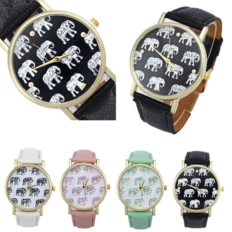 Elephant Leather Women Watches. FREE GIVEAWAY