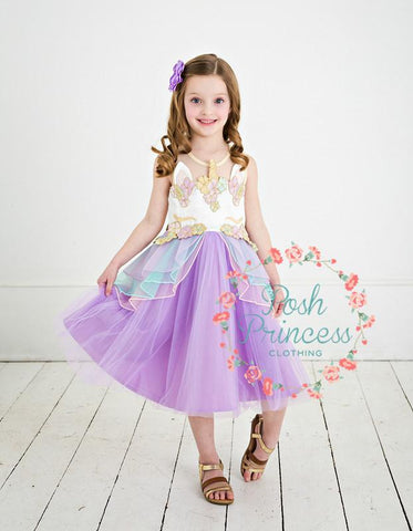 GIRLS UNICORN PARTY DRESS