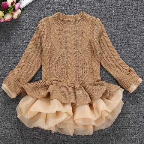 2018 Thick Warm Girl Dress