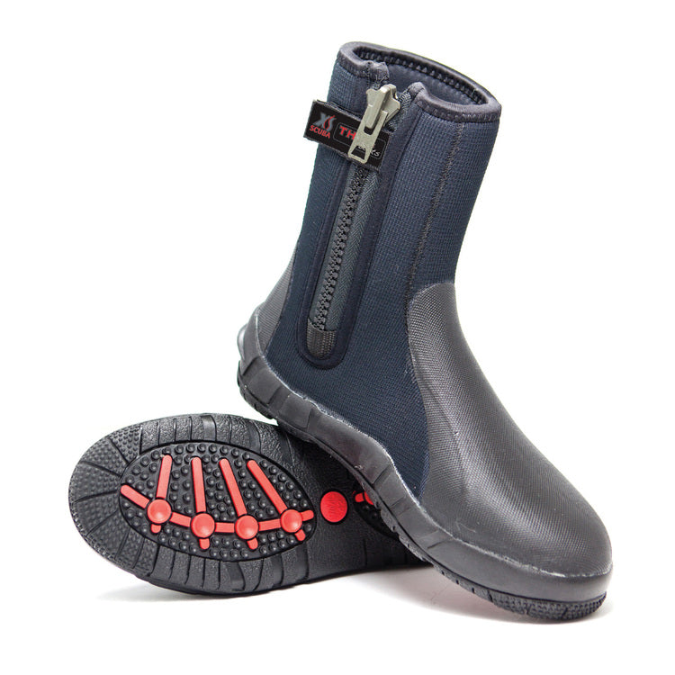 8mm Thug Zipper Boots
