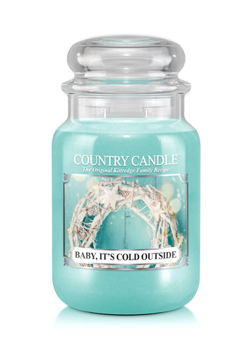Baby, It's Cold Outside Large Jar Candle