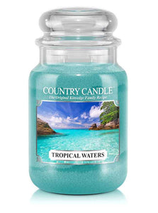 Tropical Waters Large Jar Candle