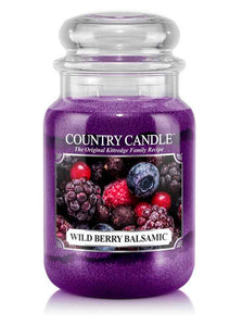 Wild Berry Balsamic Large Jar Candle