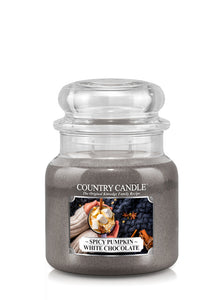 Spicy Pumpkin White Chocolate Medium Jar Candle