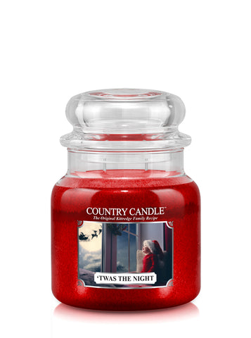 'Twas The Night Medium Jar Candle