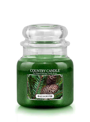 Balsam Fir Medium Jar Candle