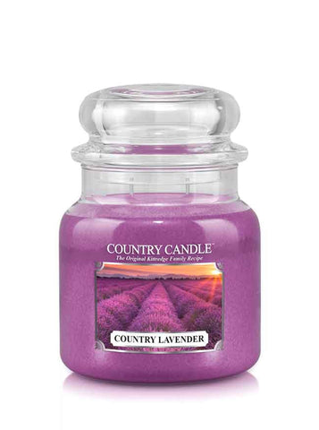 Country Lavender Medium Jar Candle