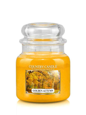 Golden Autumn Medium Jar Candle