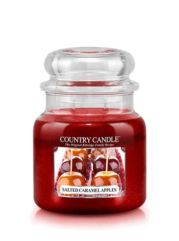 Salted Caramel Apple Medium Jar Candle
