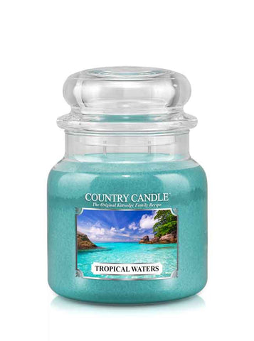 Tropical Waters Medium Jar Candle