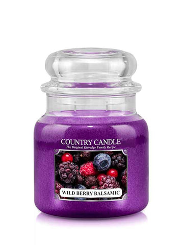 Wild Berry Balsamic Medium Jar Candle