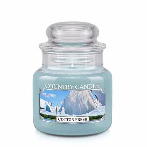 Cotton Fresh Small Jar Candle