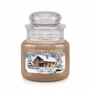 Cozy Cabin Small Jar Candle