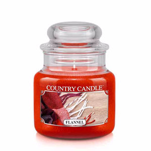 Flannel Small Jar Candle