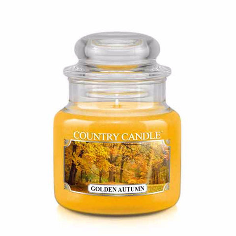 Golden Autumn Small Jar Candle