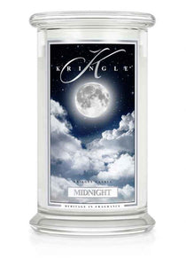 Midnight  Classic Large Candle Jar