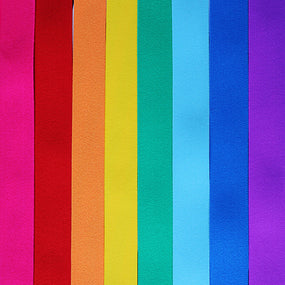 Waistband Elastic 40mm Solid Sampler Rainbow