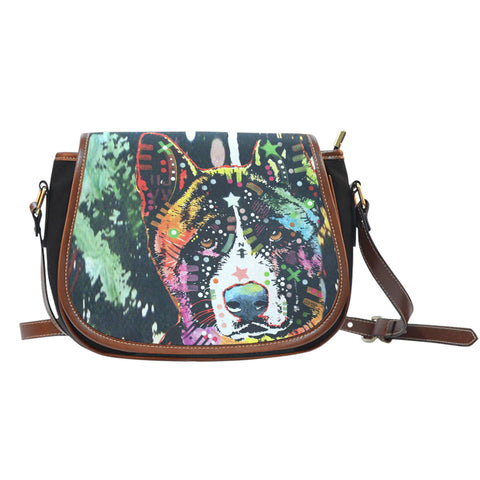 Akita Saddle Bag - Dean Russo Art