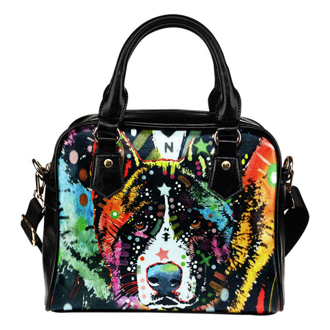 Akita Shoulder Handbag - Dean Russo Art