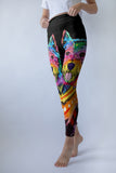 Westie Leggings - Dean Russo Art