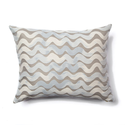 Tidal Wave Pillow in Taupe