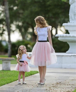Mommy and Me Pink Tutu Outfit - In The Limelight