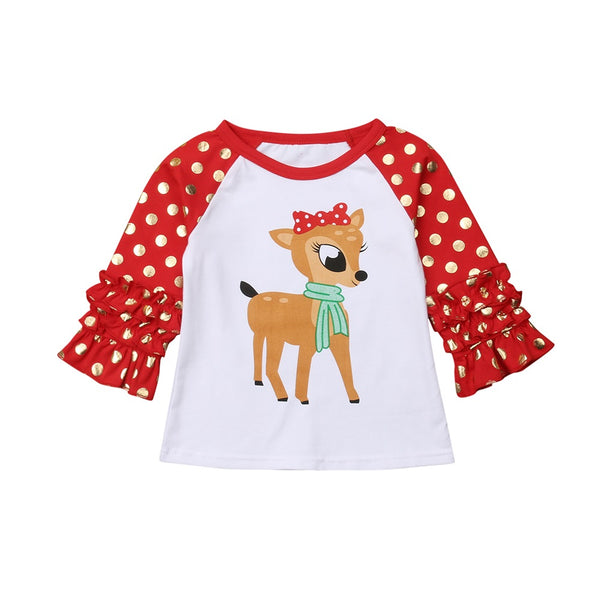 Reindeer Christmas Shirt - In The Limelight