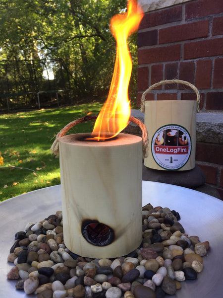 Tabletop Fire Pit - onelogfire - 2