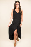 Party Gal Maxi Dress, Black